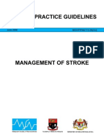 CPG Management of Stroke