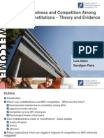 Over-indebtedness and Competition Among Microfinance Institutions - Theory and Evidence