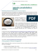 Cloruro de Magnesio_ Propiedades y Contraindicaciones - Innatia
