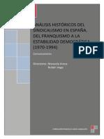 Sindicalismo en Espana