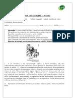 PROVA DE 9° ANO - 2° BIMESTRE.doc