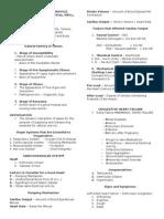 Medical Surgical Nursing Outline B - Joshua Diao