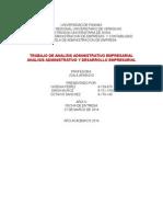 Análisis administrativo