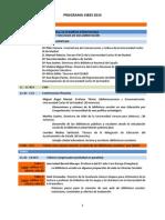 Programa CIBES 2015