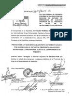 Ley Que Deroga El Decreto Supremo 040-2015-PCM