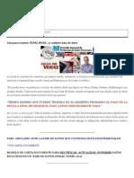 Protección Datos Personales Nota de Reclamo Para Corregir Informarción Personal en Todas Las Bases de Datos Que Existen en La República Argentina_ VERAZ, NOSIS,.