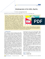 Thermodynamics of Dehydrogenation of the 2LiBH4−Mg2FeH6 Composite