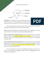 Direito Constitucional - Flávia Bahia - XII Exame Da Ordem