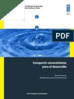 COMPARTIR CONOCIMIENTO PARA EL DESARROLLO - PARAGUAY - PNUD - PORTALGUARANI