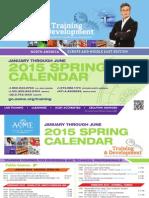 ASME Training and Development-Spring-Calender