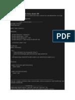 Consulta de La Base de Datos Desde JSP