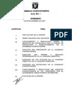 acta-001 de Montecristi