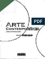 Arte Contemporânea Uma Introdução - Cauquelin