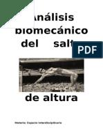 Biomecanica Salto de Altura