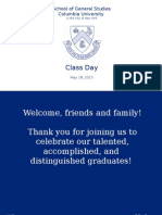 2015 GS Class Day Slideshow