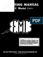 EMC-205 Vacuum Tube Tester