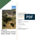 ANÁLISIS COMPARATIVO ENTRE HUARI Y MORAY