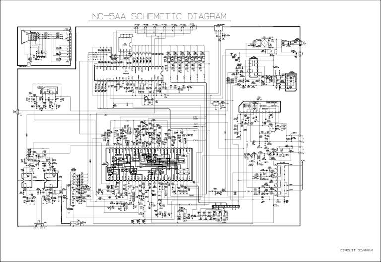 GOLDSTAR CHASSIS NC-5AA (C-TV CN-14A30H_20B30H_20H10_20A30