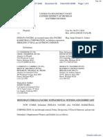 Haddad v. Indiana Pacers et al - Document No. 42
