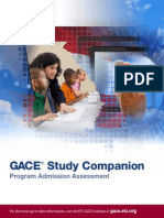 Gace Program Admission