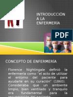 Introduccion a La Enfermeria