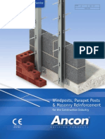 Masonry Reinforcement and Windposts