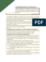 Diseño de La Investigación Cualitativa