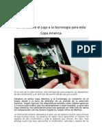 NUEVO ESTUDIO Sacale provevcho a tu dispositivo para la Copa América
