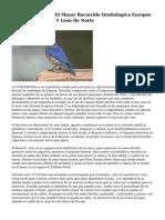 8 Paises Impulsan El Mayor Recorrido Ornitologico Europeo Que Cruza Castilla Y Leon De Norte