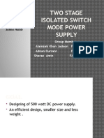 Switch Mode Power Supply Presentation