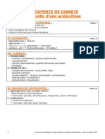 protocole acidocetose