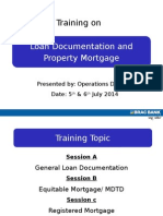 Loan Documentation 03-Jul14