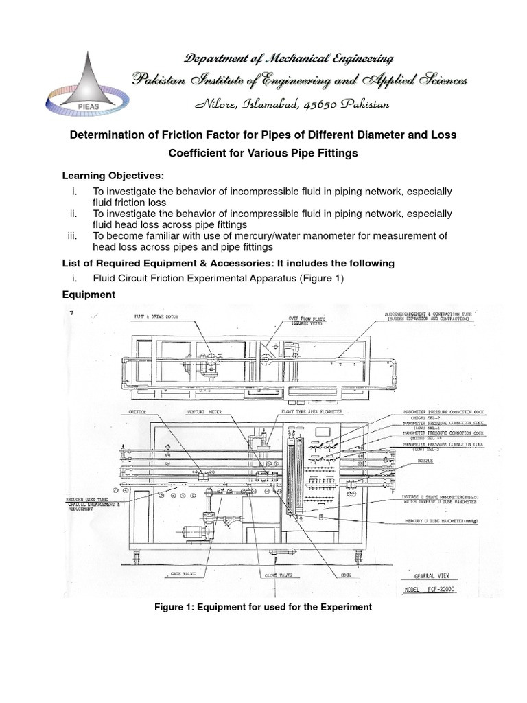 Fluid Dynamics Turbulent Flow In A Pipe Manual Guide