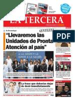 Diario La Tercera 26.06.2015