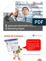 Webinar 5 Pasos Para Desarrollar Un Plan de Marketing Online
