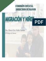 Migración y Niñez