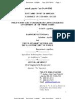 BERG v OBAMA (FCA CASE APPEAL) - APPELLANT BRIEF [1230292] - Transport Room