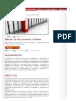 Gestao de Documentos Publicos