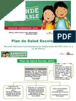 Plan de Salud Escolar