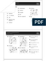 Resources for Geometry a - Quadrilaterals