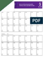 Calendario Negocio BELCORP