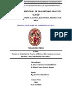 Estudio de Estabilidad de Tensión del Sistema Eléctrico Interconectado Nacional – Área Operativa Sur Este (AOSE)