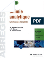 Chimie analytique