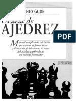 Escuela de Ajedrez, Por a. Gude.