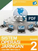 Tkj Sistem Operasi Jaringan Xi-2