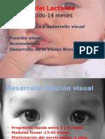 Valoración Optométrica en Infantes