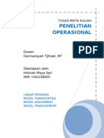 tugas operasional riset