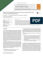 [Doi 10.1016%2Fj.molliq.2014.12.042] a. Galvão; L. Franzosi; A. Da Luz; R. Schneider; W. Robazza -- Ability of the Prigogine–Flory–Patterson Model to Predict Partial Molar Volumes of Binary Liquid Mix