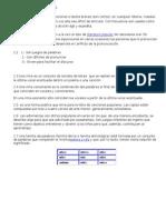 Temario Español 4 2