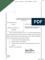 Molla v. Gonzales et al - Document No. 3